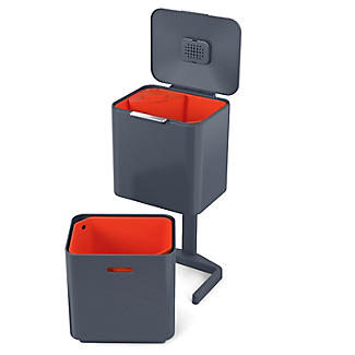 Joseph Joseph Totem Max Waste Recycling Unit - Graphite 60L