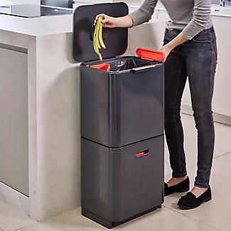 Joseph Joseph Totem Max Waste Recycling Unit - Graphite 60L alt image 4
