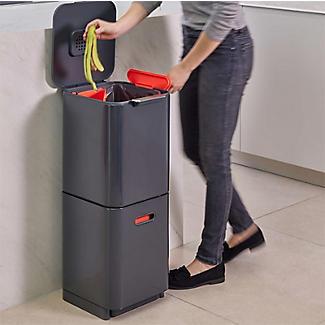 Joseph Joseph Totem Compact Waste Recycling Unit - Graphite 40L alt image 2
