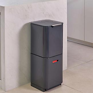 Joseph Joseph Totem Compact Waste Recycling Unit - Graphite 40L alt image 3