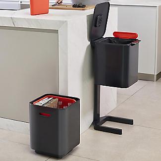 Joseph Joseph Totem Compact Waste Recycling Unit - Graphite 40L alt image 5
