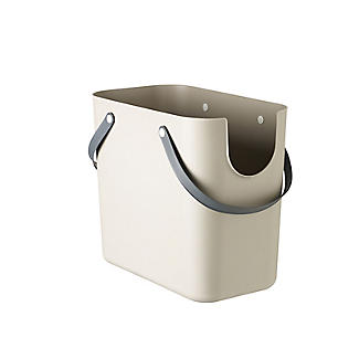 Rotho Albula Recycling Waste Bin Latte Colour - 25L alt image 5