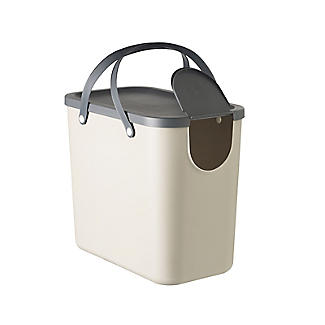 Rotho Albula Recycling Waste Bin Latte Colour - 25L alt image 6