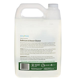 Eco-Max Natural Spearmint All Purpose Bathroom Cleaner 4 Litre Refill alt image 2