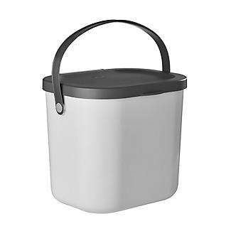 Rotho Albula Compost Caddy Putty Colour 6L