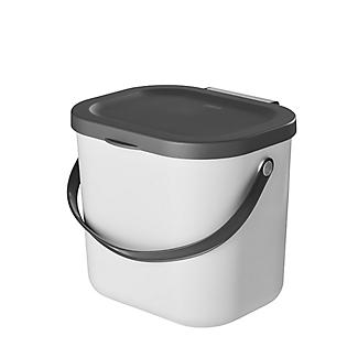 Rotho Albula Compost Caddy Putty Colour 6L alt image 3