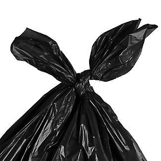 20 Lakeland Tie Top Large Dustbin Liners – Black Bags 110L alt image 2