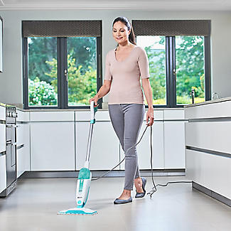 Shark Steam Mop White/Mint Green S1000UK alt image 6