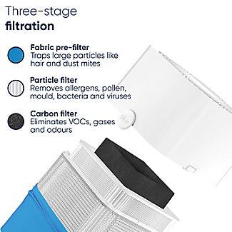 Blueair Blue Pure 221 Air Purifier 50m Sq. alt image 3