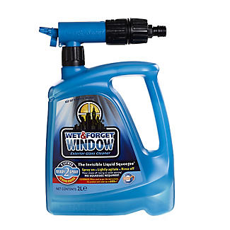Wet & Forget Window Cleaner Spray 2L