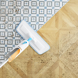 Lakeland Dual Spray Mop and 2 Floor Cleaners  alt image 3
