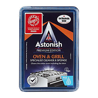 Astonish Oven and Grill Cleaner and Sponge 250g