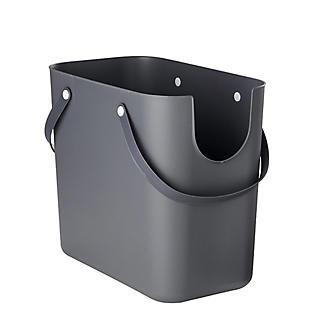 Rotho Albula Recycling Waste Bin Slate Grey 25L alt image 10