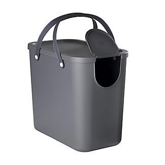 Rotho Albula Recycling Waste Bin Slate Grey 25L alt image 4
