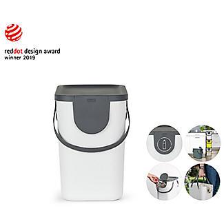 Rotho Albula Recycling Waste Bin Slate Grey 25L alt image 6