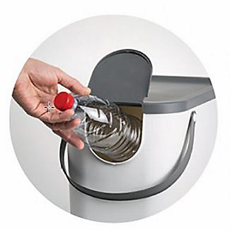 Rotho Albula Recycling Waste Bin Slate Grey 25L alt image 7