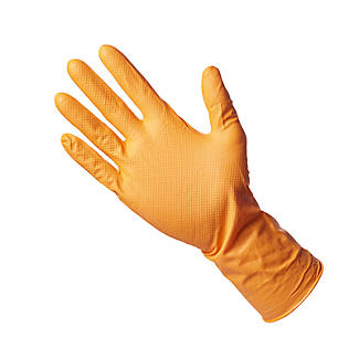 4 Grippaz Nitrile Multipurpose Gloves Medium