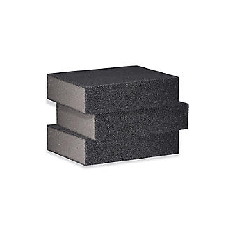 3 Emery Covered Cleaning Sponges