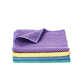4 Clean and Gleam Kitchen and Bathroom Cleaning Cloths