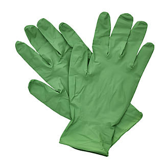 20 Biodegradable Disposable Nitrile Gloves Small alt image 2