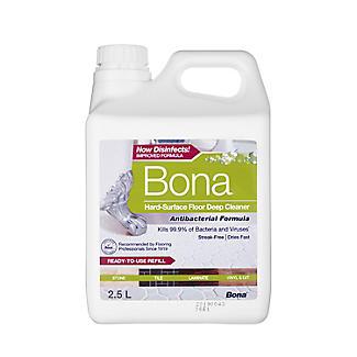 Bona Antibacterial Hard Floor Cleaner Refill 2.5L