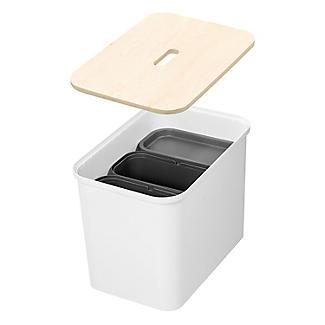 SmartStore Recycling Bin Unit White - 76L