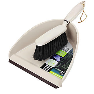 Greener Cleaner Recycled Plastic Dustpan and Brush Set alt image 3