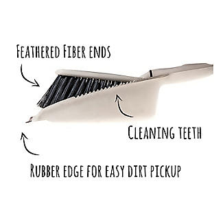Greener Cleaner Recycled Plastic Dustpan and Brush Set alt image 4
