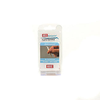 Clean Between Individually Wrapped Plastic Toothpicks Pack of 50 alt image 3