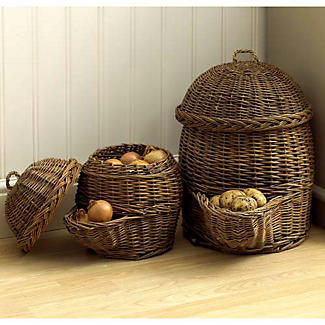 Exceptionnel Potato Willow Storage Basket