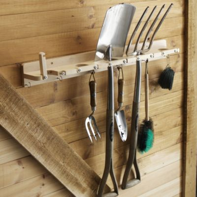 Wooden Tool Rack Lakeland