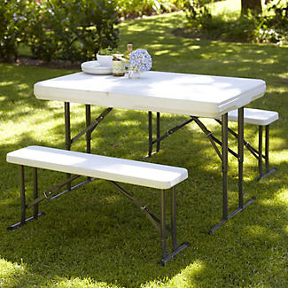 Easy-Up Picnic Table and Benches