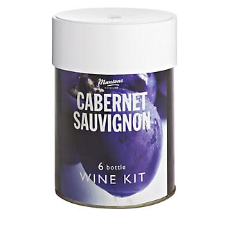 Muntons Cabernet Sauvignon Wine Making Kit (6 Bottles)