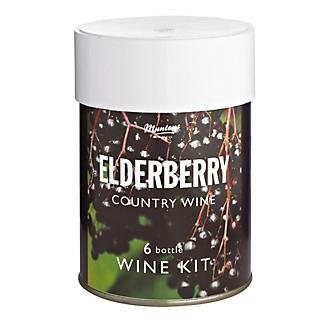 Muntons 6 Bottle Wine Kit Elderberry
