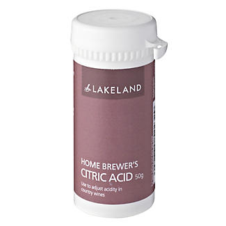 Home Brewer's Citric Acid 50g