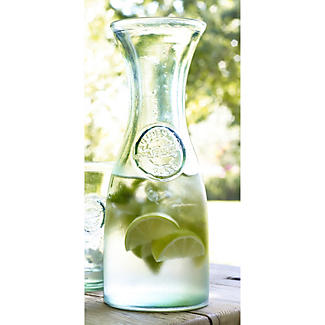 Authentic Recycled Carafe