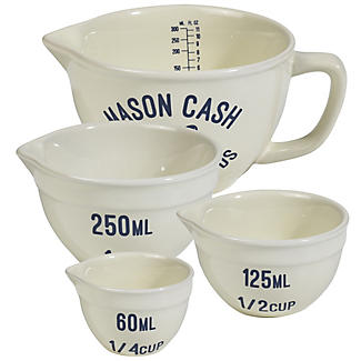 Mason Cash Varsity 4 Measuring Cups & Jugs Set  alt image 2