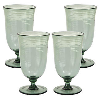 Glass Effect Goblet x 4