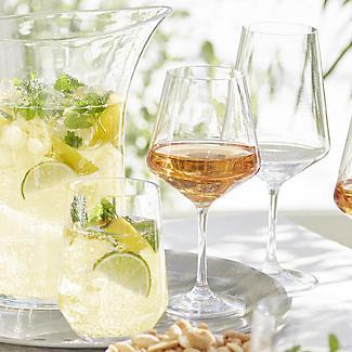Party Proof Plastic Large Wine Goblet x 4 alt image 2