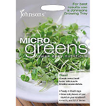 Johnsons MicroGreens Basil
