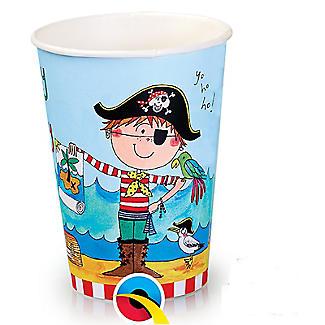 Rachel Ellen Pirate 8 Paper Cups