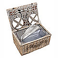 Traditional Picnic Hamper For Four