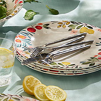 Lemon Grove Melamine Dinner Plate alt image 2