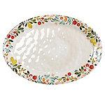Lemon Grove Melamine Oval Serving Platter