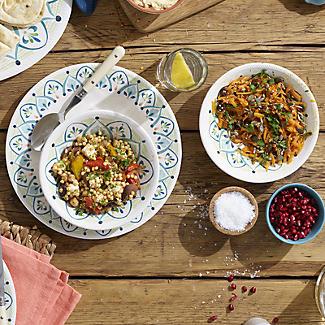 Moroccan Bloom Melamine Bowl alt image 5