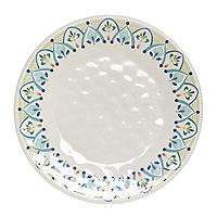 Moroccan Bloom Melamine Dinner Plate