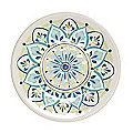 Moroccan Bloom Melamine Side Plate