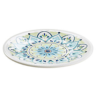 Moroccan Bloom Melamine Side Plate alt image 3