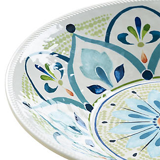 Moroccan Bloom Melamine Salad Bowl alt image 2