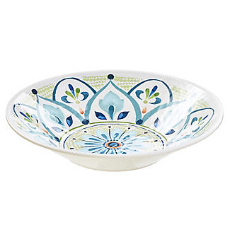 Moroccan Bloom Melamine Salad Bowl alt image 3